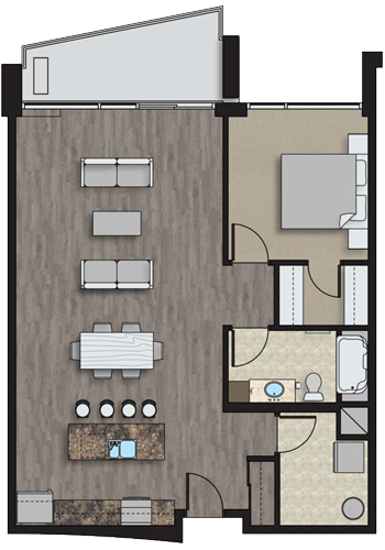 Floorplan for Parkview